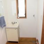 2階洗面・洗濯機置場
