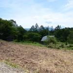 物件北側より東南方向を撮影。富士山の眺望があります。