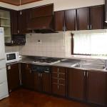 8畳大の広いキッチン