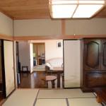 1階10畳和室から東方向を撮影。