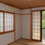東側和室8畳。ゲストルームとして使用。