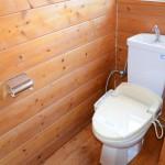 ウォシュレットのトイレ。
