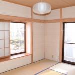 東側6畳和室の東南方向を撮影。