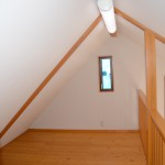 2階ロフト6畳の東方向を撮影。