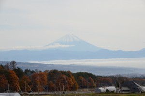 富士山と雲海 037