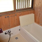 浴室。汚れもなく、綺麗に使用されています。