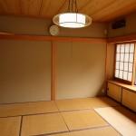 1階リビング・ダイニングに隣接した和室8畳。掘りごたつあり。