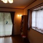 2階南西側の洋室7.5畳。北側から南方向を撮影。