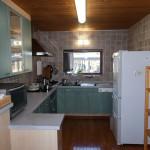 6畳大の広いキッチン。