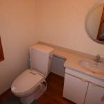 2階の広いトイレ