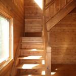 玄関から階段方向を撮影。