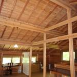 2階ロフトの天井方向を撮影。