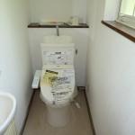 1階トイレ(新品に取替済み)