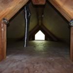 広々した屋根裏スペース。