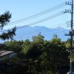 敷地西側から北岳・鳳凰三山・甲斐駒ヶ岳の眺望。