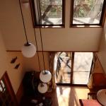 2階6畳和室からリビングを撮影