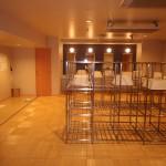 温泉大浴場の脱衣室