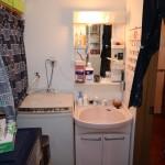 洗面と洗濯機置き場